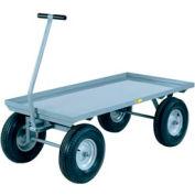 Little Giant® Wagon Truck Lip Deck CH-3048-16P - 30 x 48 - Pneumatic Wheels - 3000 Lb. Cap.