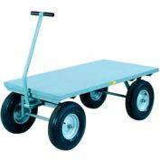 Giant® petit Wagon Truck CH-3672-16PFSD - panneaux plat pont - 36 x 72 - roues pneumatiques - 3000 Lb.