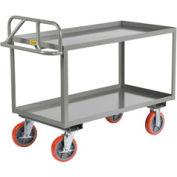 "Little Giant® Shelf Truck, 2 Tray Shelves, 30""Wx48""L, 3600 Lbs. Cap."