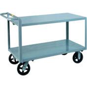 Little Giant® marchandises collecteur G-3060-8PYBK Flush étagères 30 x 60 Poly roues avec frein