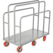 Giant® petit bois & panneau chariot LC-3048-6PY, 30 x 48, roues en polyuréthane