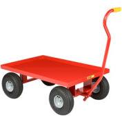 Giant® petite pépinière Wagon LW-2436-10p - tablier en acier - 10 x 3,5 caoutchouc jante