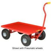 Little Giant® Nursery Wagon Truck LW-2436-8S - Steel Deck - 8 x 2.50 Rubber Wheel