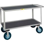 Giant® petite poignée encastré Instrument Cart Lip vinyle antidérapant étagères 24 x 48