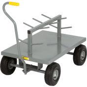 """Little Giant® LWRW-2436-10 Wire Reel Wagon 24""""W x 36""""L 10"""" Solid Rubber Wheels - 1200 Lb. Cap."""