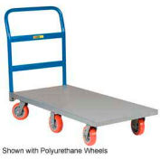 Little Giant® 6-Wheel Platform Truck NB6W-3660-6MR - 36 x 60 - MORT Wheels - 2000 Lb. Cap.