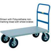 Little Giant® Heavy Duty Platform Truck NBB-3048-8MR - 30 x 48 - MORT Wheels - 2400 Lb.