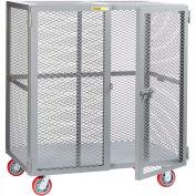 Giant® petit stockage Mobile Locker SCN-3672-6PPY, 36 x 72, roues en polyuréthane