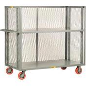 Giant® petit camion réglable 3-verso T2-A-2460-6PY, Mesh côtés, 24 x 60