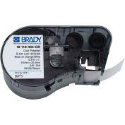 "Brady® M-118-494-OR B-494 Color Polyester Labels 0,375""H x 1""W Orange/White, 240/Roll"