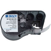 "Brady® M-120-494-OR B-494 Color Polyester Labels 0,5""H x 1""W Orange/White, 240/Roll"