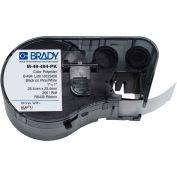 """Brady® M-49-494-PK B-494 Color Polyester Labels 1""""H x 1""""W Pink/White, 260/Roll"""