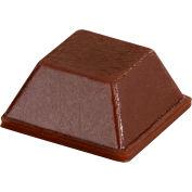 "Rubber Bumper Pad for Appliances - Square - Brown - 0.230"" H x 0.500"" W - BS03 - Pkg of 5000"