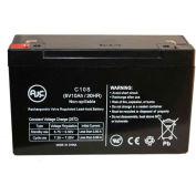 AJC® Hubbell 1200006 6V 10Ah Emergency Light Battery