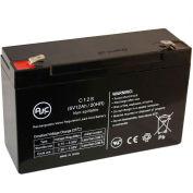 AJC® Fire Lite 40 6V 12Ah Emergency Light Battery