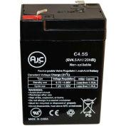 AJC® Edwards 1624 6V 4.5Ah Emergency Light Battery