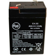 AJC® Edwards 1662-B 6V 4.5Ah Emergency Light Battery