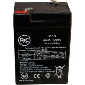 AJC® Astralité UE-HD-1224 6V 5Ah batteries lumière d'urgence