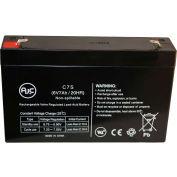 AJC® Dual-Lite ML-5-12V 6V 7Ah Emergency Light Battery