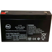 AJC® Power Sonic PS670FO 6V 7Ah UPS Battery