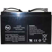 AJC® Fire Lite PS121000 12V 100Ah Emergency Light Battery