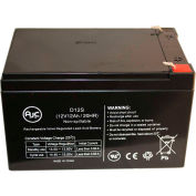 AJC® Powersonic PS12120F2 12V 12Ah Emergency Light Battery