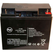 AJC® Exide Powerware 2026C 2036C 12V 18Ah Emergency Light Battery