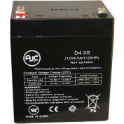 AJC® Edwards EST 12V4A 12V 4,5Ah batterie éclairage de secours