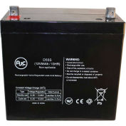 AJC® Fire Lite PS12550 12V 55Ah Emergency Light Battery