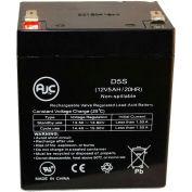 AJC® Datasafe 12HX25T-FR 12V 5Ah batterie de l'onduleur