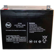 AJC® Interstate DCS-75BT 12V 75Ah Wheelchair Battery