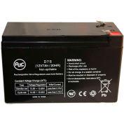 AJC® Para systèmes 1200SLA 12V 7Ah batterie onduleur