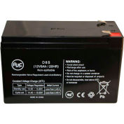 AJC® GS Portalac TPH12080 TPH 12080 12V 8Ah Emergency Light Battery