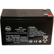 AJC® Exide POWERWARE 9125-48EBM 12V 9Ah Emergency Light Battery