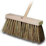 "Palmyra 16""W Street Broom, Wood Handle"