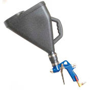 Gun & Hopper with Black Hopper, 2 Gallon Capacity