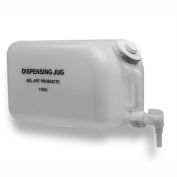 """Bel-Art Dispensing Jug 118500000, HDPE, 20 Liters, 9-7/8"""" Sq. x 15""""H, 1/PK"""