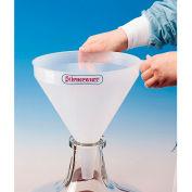 Bel-Art H14712-0350 Polypropylene 14.1 Liter Drum and Carboy Funnel, 1/PK