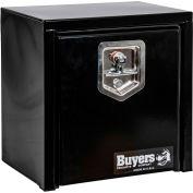 Buyer's Black Steel Underbody Truck Box with T-Handle, 15x10x15 - 1703310
