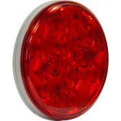 "4"" Round 10 Led Red Stop-Turn Tail Light - Min Qty 100"