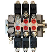 Buyers Electrically Operated Sectional Valves, HVE34PR3PR3PRPB, 3 Way w/ PR, 4 Way w/2 PR, PB