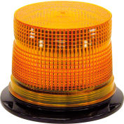 12-48 VDC Low Profile Permanent Mount Dual Flash Strobe Light - SL640ALP