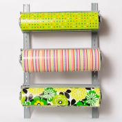 """Bulman Products Wall Rack 3 High pour 24» Largeur de matériau, 26-1/4""""W x 8-1/2""""D x 39""""H, Gris clair"""