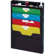 Task File Organizer Rack - Black