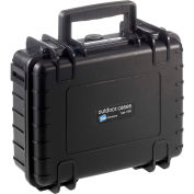 "B&W Type 1000 Small Outdoor Waterproof Case W/o Foam / Insert 10-3/4""L x 8-1/2""W x 4H, Black"
