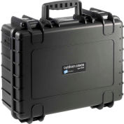"B&W Type 5000 Medium Outdoor Waterproof Case W/ Sponge Insert Foam 18-1/2""L x 14-1/2""W x7-1/2H,Black"