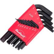 "Blackhawk ZW-53 .050-3/16"" 13 Piece  Fractional Hex Key Set"