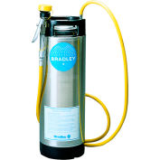 Bradley S19-670 5 Gallon Portable Pressurized Face Wash Unit with Drench Hose Only