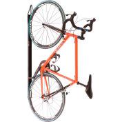 Support de vélo unique vertical non verrouillable d'intérieurBike Fixation