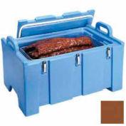 "Cambro 100MPC131 - Food Pan Carrier for 12"" x 20"" Pans, 18 x 26-3/4 x 15, Cap. 40 Qts., Dark Brown"